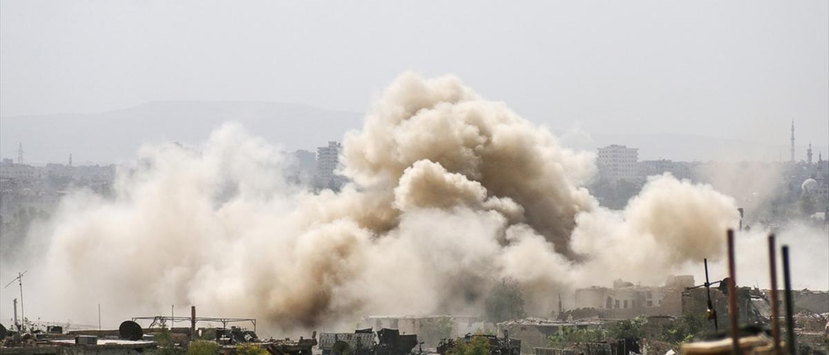 وكالة: قصف مكثف لنظام الأسد ومليشيات إيران على إدلب