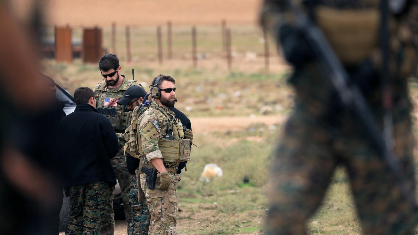 تلفزيون: الجيش الأميركي يبدأ سحب معداته من سوريا