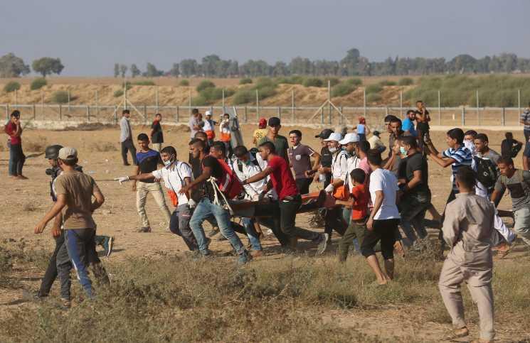 استشهاد 3 فلسطينيين برصاص الاحتلال الإسرائيلي في قطاع غزة