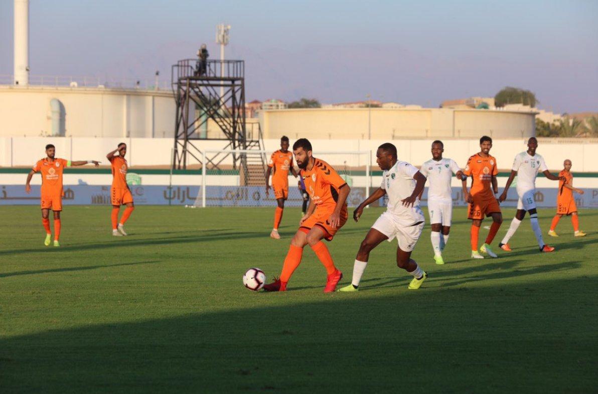 الإمارات ينتزع نقطة التعادل من عجمان في الوقت القاتل