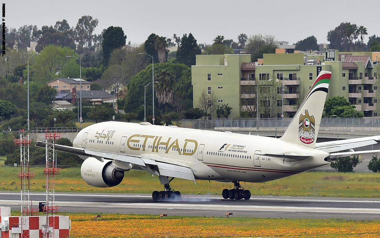 «الاتحاد للطيران» تنفي إنفاق 35 مليوناً لإنقاذ «جيت إيروايز» الهندية