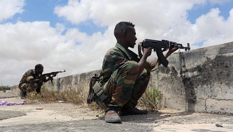 مقتل 34 عنصرا من حركة الشباب الصومالية في غارة على معسكرهم