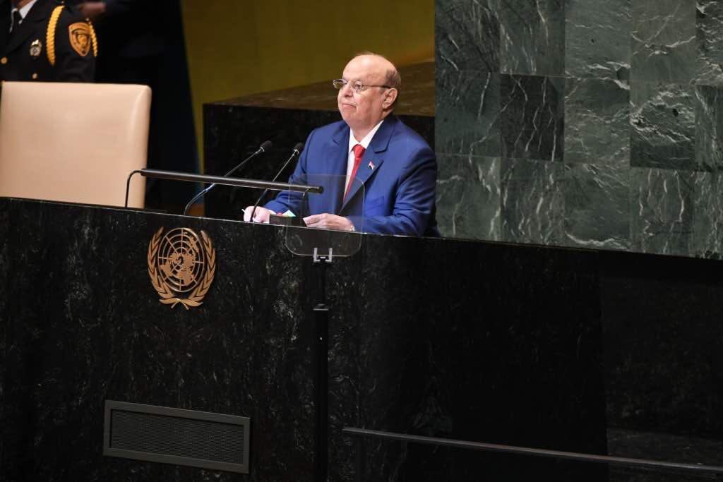 الرئيس اليمني: جماعة الحوثي تعمل كوكيل حرب لإيران وحزب الله