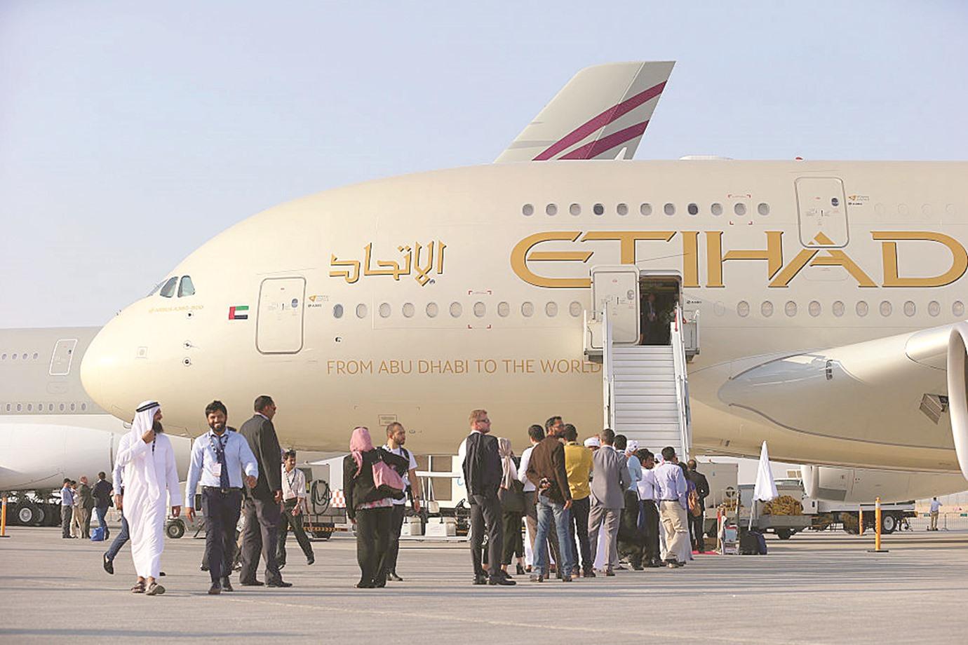 فوربس: 3.5 مليار دولار خسائر «طيران الاتحاد» في عامين