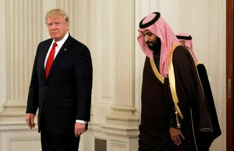 """إدارة ترامب تدرس تقديم """"مكافأة إجبارية"""" للسعودية بسبب سوريا"""
