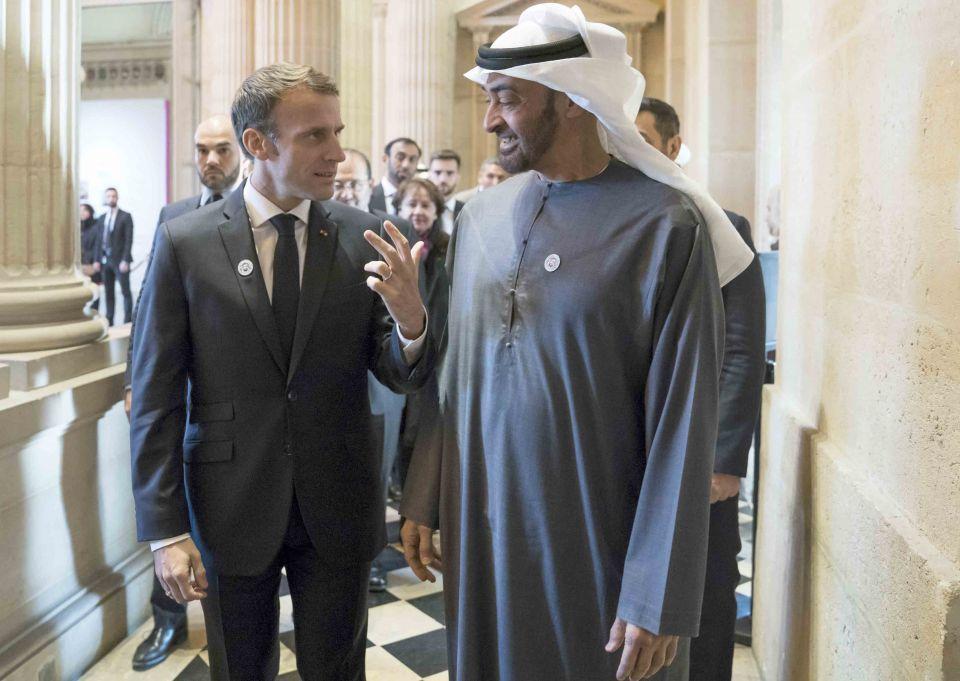 ماكرون يتحدث عن ضمانات تلزم الإمارات بعدم استخدام أسلحة فرنسية ضد المدنيين