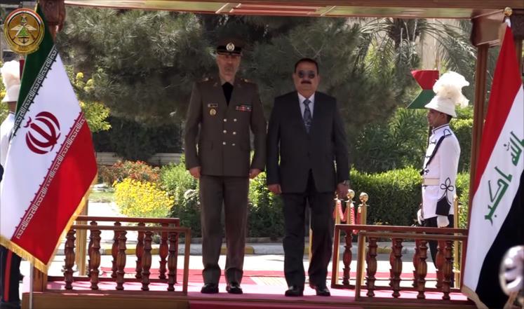 وزير الدفاع الإيراني يصل بغداد بزيارة غير معلنة