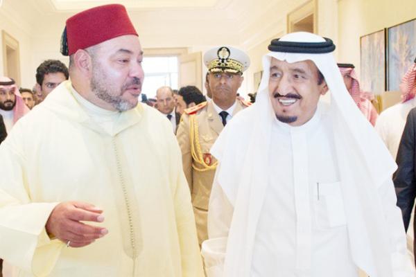 العاهل السعودي يؤكد لملك المغرب ضرورة توحيد المواقف لمواجهة إيران