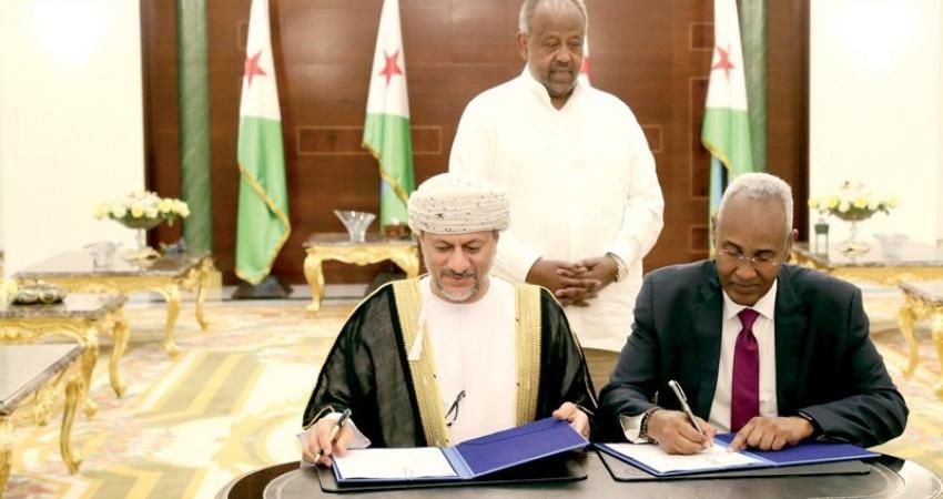 اتفاق تعاون بين عُمان وجيبوتي لمزاحمة موانئ دبي