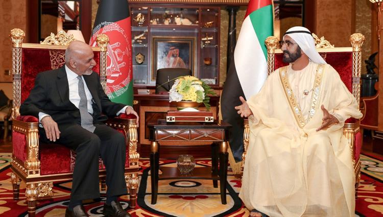 محمد بن راشد: العلاقات بين الإمارات وأفغانستان عميقة