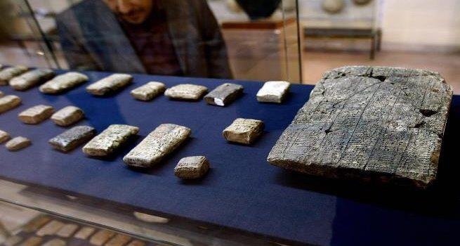 هُربت عبر الإمارات وإسرائيل.. واشنطن تعيد إلى بغداد قطعها الأثرية المسروقة