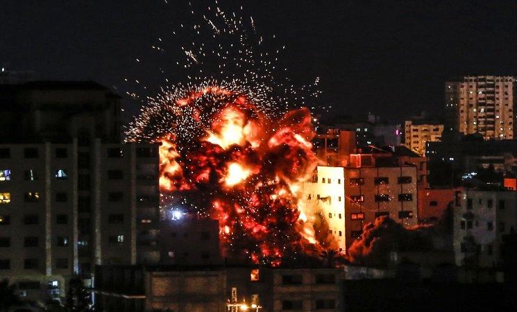 استشهاد 11فلسطينيا في غزة ومقتل إسرائيلي بعسقلان