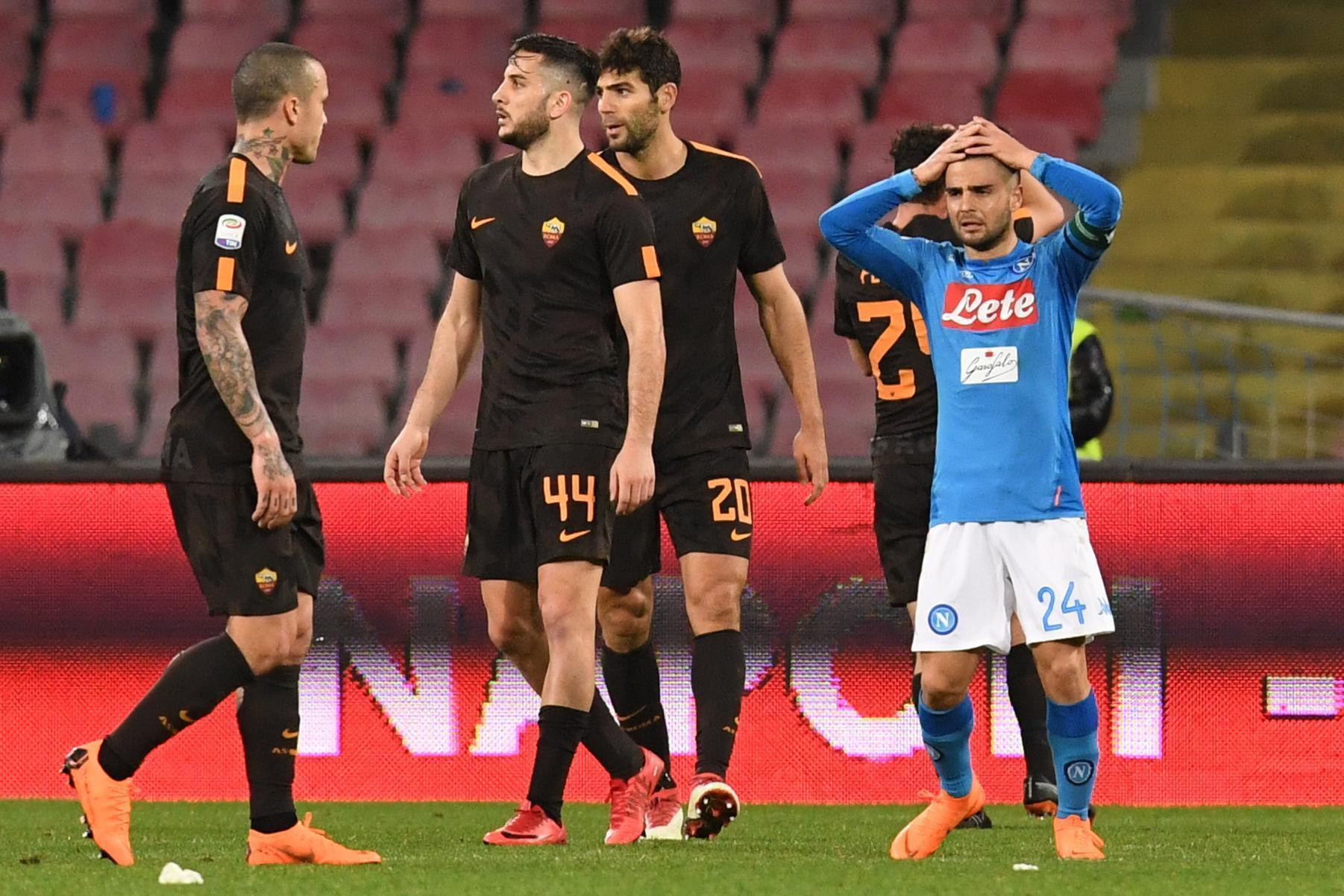 روما يقسو على نابولي ويُشعل الدوري الإيطالي