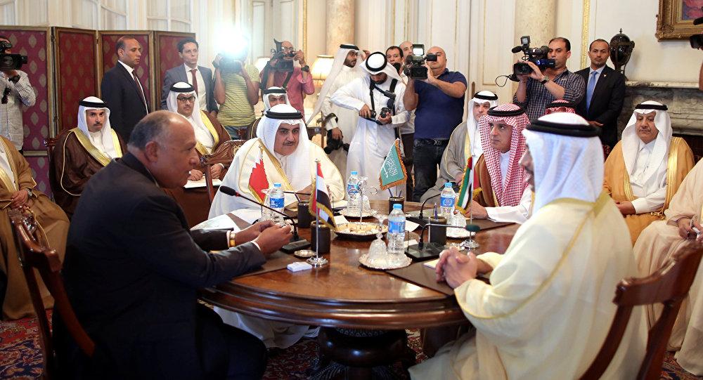 دول الحصار الأربع ترد على طلب الرئيس الأمريكي بشأن أزمة قطر