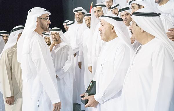 محمد بن زايد: حب الوطن ليس بالكلام والشعارات