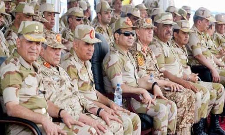 البرلمان المصري يوافق على منح قادة الجيش حصانة من الملاحقة القضائية