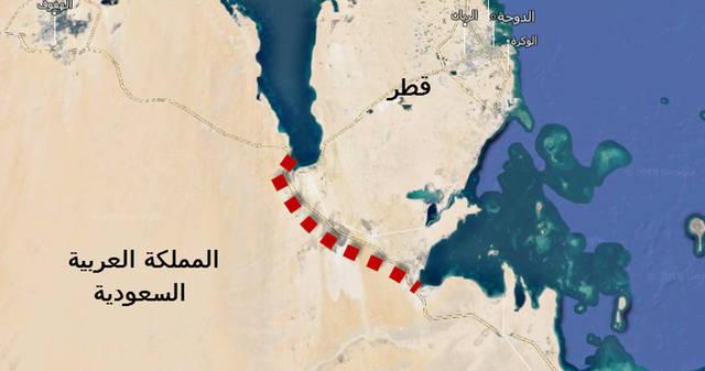 مسؤول سعودي يلمح إلى خطة لحفر قناة على الحدود مع قطر