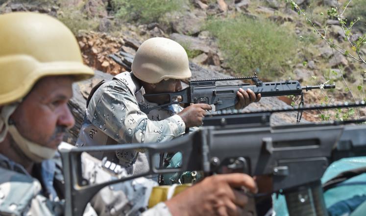 مقتل أربعة جنود سعوديين على حدود اليمن