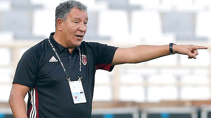 مدرب الوحدة يوضح ملابسات تمرد اللاعب المغربي باتنا