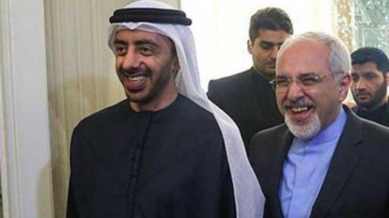 ظريف يتهم الإمارات بإثارة التوتر في المنطقة