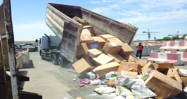 اقتصادية عجمان: إتلاف بضائع مقلّدة بقيمة 82 مليون درهم