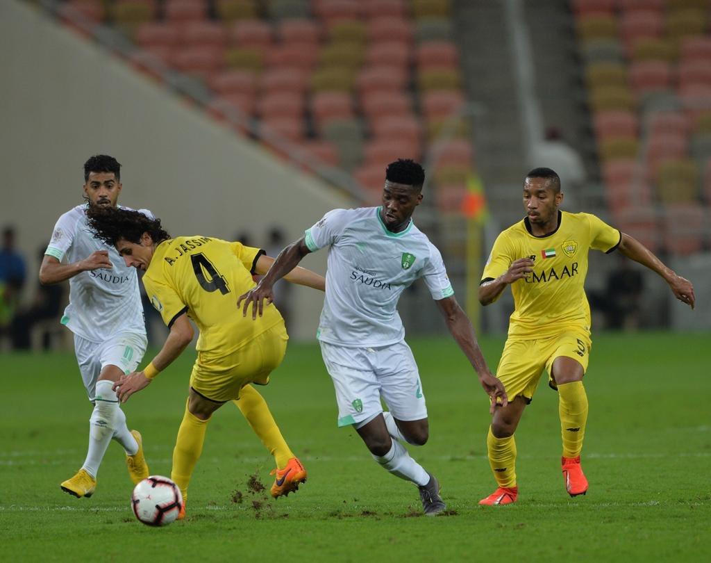 الوصل يودع نصف نهائي البطولة العربية لصالح الأهلي السعودي