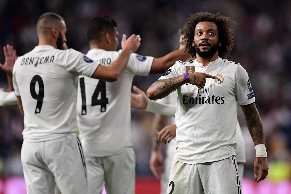 ريال مدريد يعبر فيكتوريا بلزن بصعوبة في أبطال أوروبا