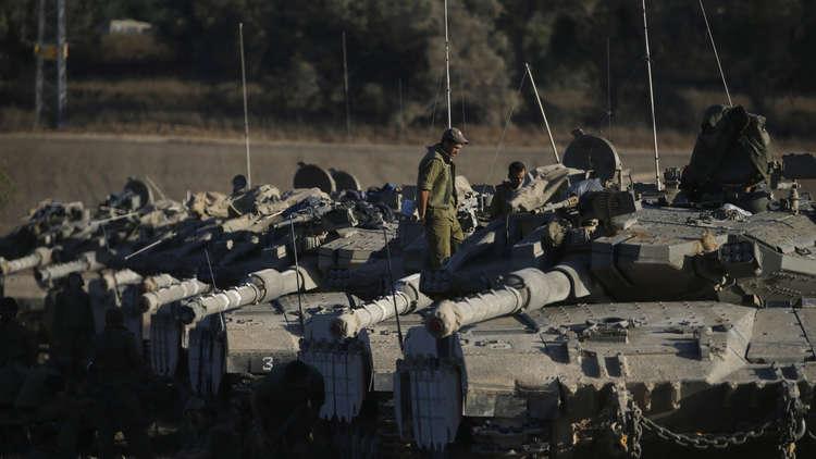 الرئيس الإسرائيلي يهدد غزة بـضربة شديدة وقاصمة في حرب قاسية
