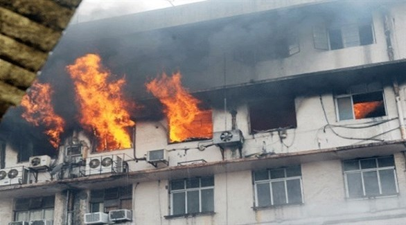 الهند: مقتل شخصين وإصابة أكثر من 40 آخرين في حريق مستشفي