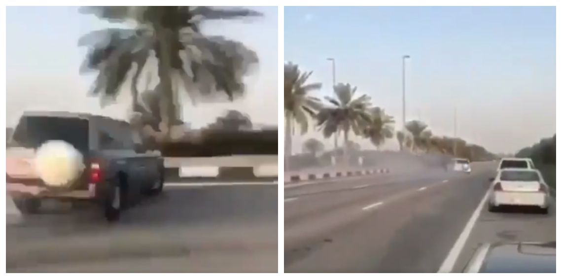 أبوظبي.. إيقاف مفحطين بعد تدهور مركبة ودهس شاب ووفاته