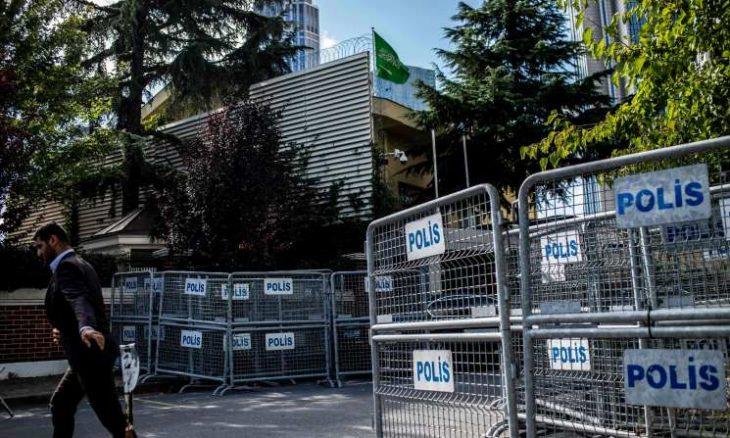 تركيا تفتش القنصلية السعودية في إطار التحقيقات حول اختفاء خاشقجي