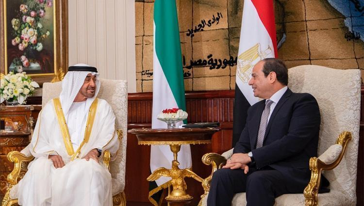 مراقبون اعتبروها غير ناجحة.. زيارة مفاجئة لمحمد بن زايد للقاهرة