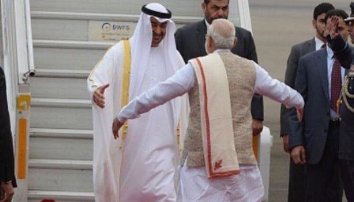 محمد بن زايد يبحث هاتفياً مع رئيس الوزراء الهندي تعزيز العلاقات