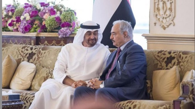 صحيفة تزعم: الإمارات تحضر لانقلاب جديد لما بعد حفتر في ليبيا