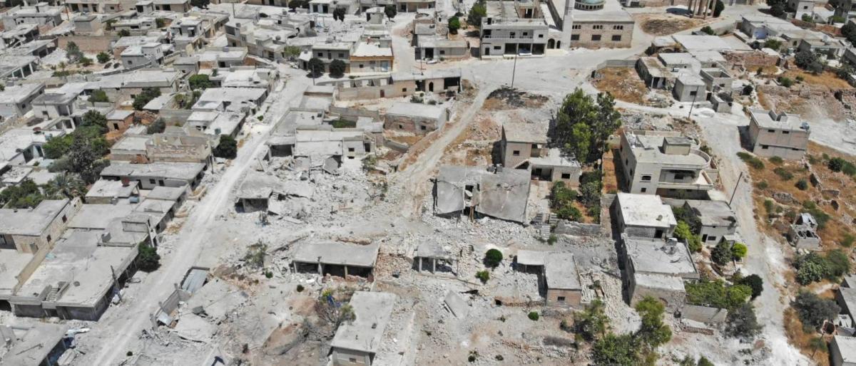 العيد بسوريا.. نزوح ودمار شامل في 100 بلدة بإدلب وحماة