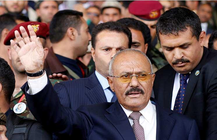 أنباء عن نقل نجلي الرئيس اليمني السابق صالح إلى أبوظبي