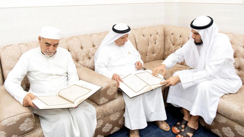 40 % من طلاب مراكز مكتوم لتحفيظ القرآن من كبار المواطنين