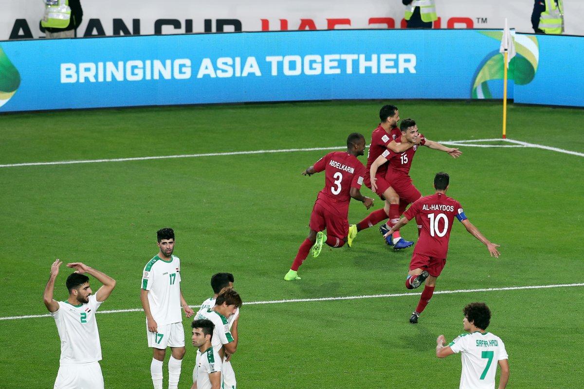قطر تتفوق على العراق وتتأهل لربع نهائي أمم آسيا