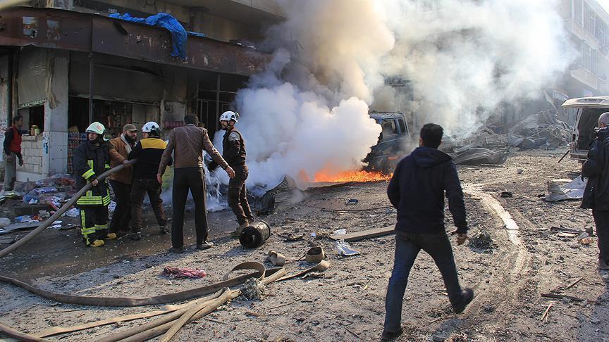 سوريا.. مقتل 10 مدنيين في هجوم لنظام الأسد على إدلب