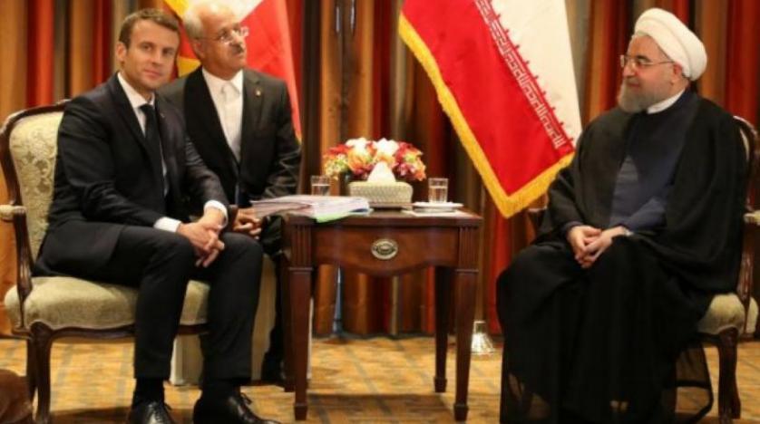ماكرون: اتفقت مع روحاني على بحث الشروط لاستئناف المحادثات النووية