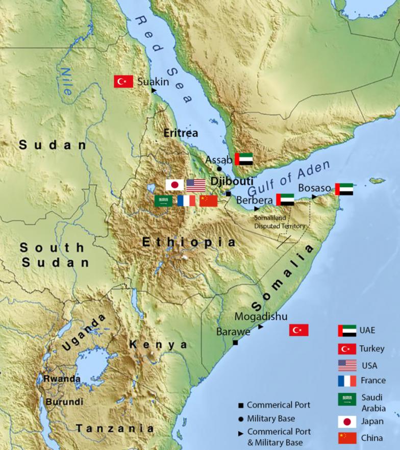 «ستراتفور» تكشف دور الإمارات الغامض في أفريقيا الذي كشفته مصالحة إثيوبيا وإريتريا
