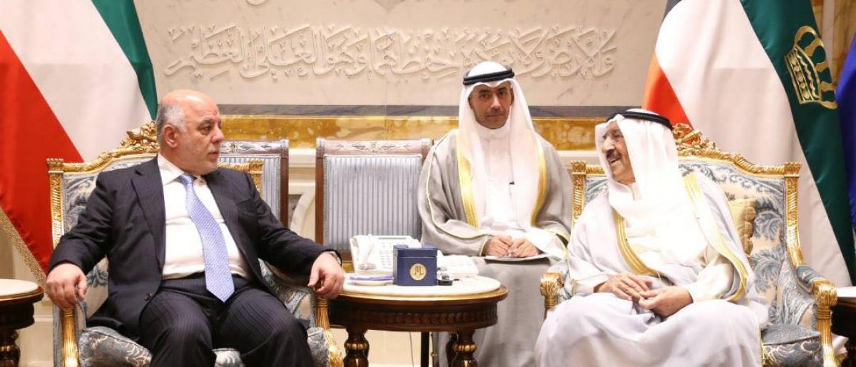 أمير الكويت يبدي استعداد بلاده لدعم العراق لتجاوز الاضطرابات
