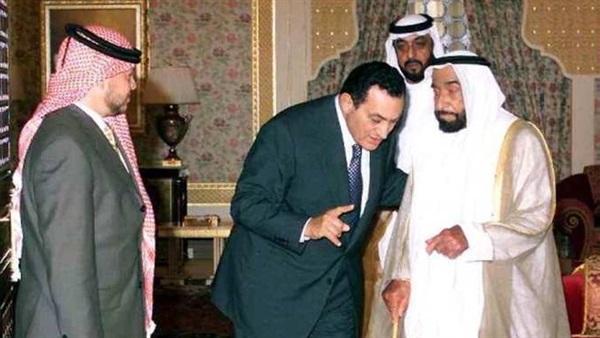 المخلوع مبارك: أرسلت قوات مصرية لحماية آبار النفط في الإمارات بطلب من زايد