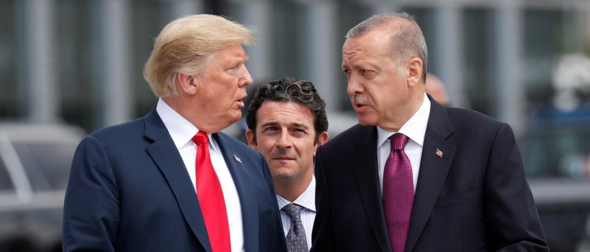 ترامب وأردوغان يتفقان على تنفيذ انسحاب أمريكا من سوريا