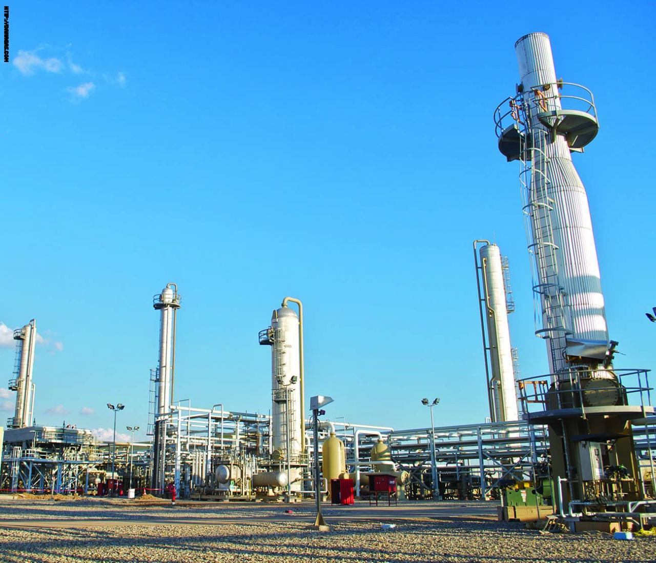 شركة تابعة لدانة غاز تتفق على إنتاج وبيع الغاز الطبيعي لكردستان لمدة 20 عاماً
