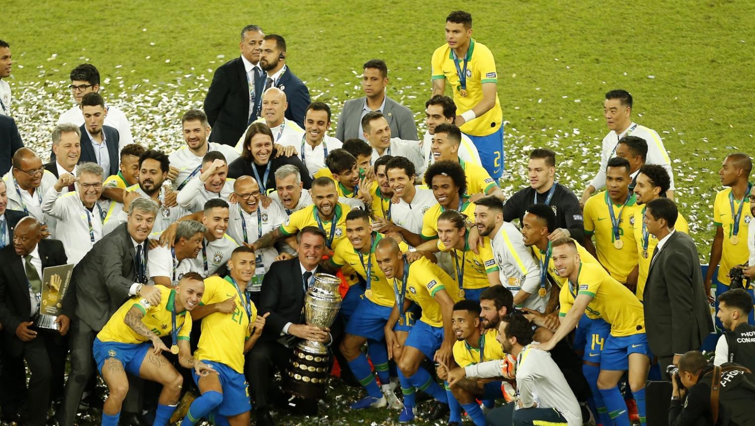 البرازيل بطلة كوبا أمريكا للمرة التاسعة في تأريخها