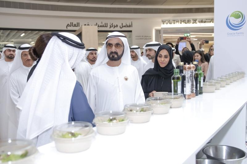 محمد بن راشد: هدفنا  تحقيق أمن غذائي لأوقات الطوارئ