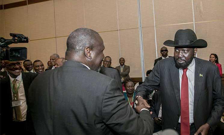 الخارجية السودانية: كير ومشار يوقعان الخميس اتفاقاً لتقاسم السلطة