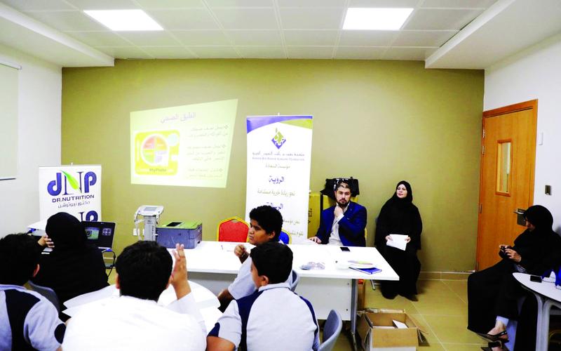 حميد بن راشد الخيرية تطلق مبادرة صحتهم أمانة لمرضى السكري والسمنة