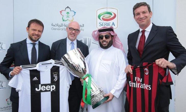 """مباراة """"كأس السوبر الإيطالي"""" في السعودية مهددة بالإلغاء"""